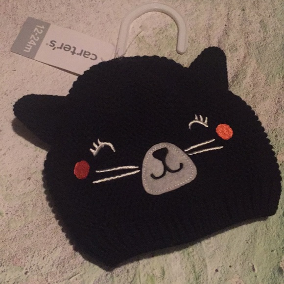 NWT Carter s kitty cat hat 12-24 month 314727eb14ed